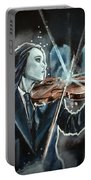 The White Violin Portable Battery Charger by Joel Tesch