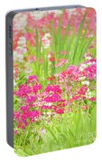 The World Laughs In Flowers - Primula Portable Battery Charger