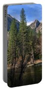 Three Brothers, Yosemite National Park Portable Battery Charger