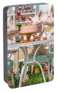 Three Little Pigs And The Birthday Cake Portable Battery Charger