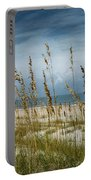 Through The Sea Oats Portable Battery Charger by Judy Hall-Folde