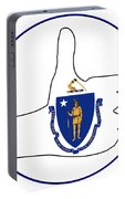 Thumbs Up Massachusetts Portable Battery Charger