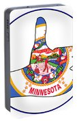 Thumbs Up Minnesota Portable Battery Charger