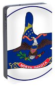 Thumbs Up North Dakota Portable Battery Charger