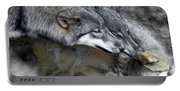Timber Wolves Up Close Portable Battery Charger