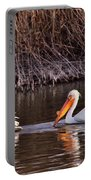 To Pelicans Trolling For Fish Portable Battery Charger