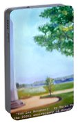 Tom Lee Monument Anniversary Print Portable Battery Charger