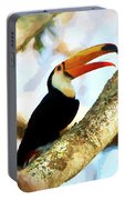 Toucan On A Tree Portable Battery Charger