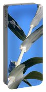 Towering Big Long Leaves Portable Battery Charger