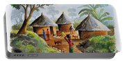 Traditional Village Portable Battery Charger