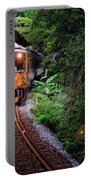 Train With Tunnel Of Pingxi Line, Taiwan Portable Battery Charger