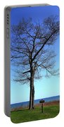 Tree And Great Lake Portable Battery Charger