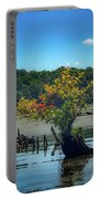 Tree In Mallows Bay Portable Battery Charger