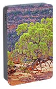 Trees Plateau Valley Colorado National Monument 2871 Portable Battery Charger