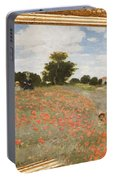 Tribute To Claude Monet Portable Battery Charger