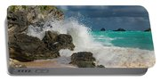 Tropical Beach Splash Portable Battery Charger