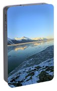 Turnagain Arm In Winter Alaska Portable Battery Charger