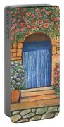 Tuscan Door, 16x20, Acrylic, 2018 Portable Battery Charger