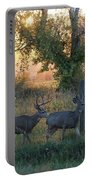 Two Deer Sunset Portable Battery Charger