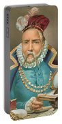 Tycho Brahe Illustration Portable Battery Charger