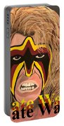 Ultimate Warrior Writing Version Portable Battery Charger