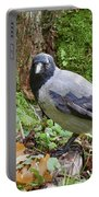 Under The Oak Tree. Hooded Crow Portable Battery Charger