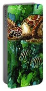 Underwater Mardi Gras Portable Battery Charger