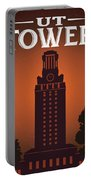 University Of Texas Tower Portable Battery Charger