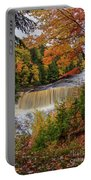 Upper Tahquamenon Autumn Colors -0007 Portable Battery Charger