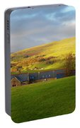 Upper Wensleydale And Lovely Seat From Hawes In Yorkshire Dales Portable Battery Charger