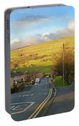 Upper Wensleydale From Hawes Yorkshire Dales National Park Portable Battery Charger