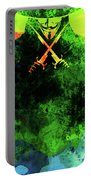 V For Vendetta Watercolor II Portable Battery Charger
