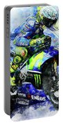 Valentino Rossi - 18 Portable Battery Charger