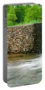 Valley Creek Waterfall Panorama Portable Battery Charger