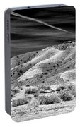 Valley Of Fire Black White Nevada  Portable Battery Charger