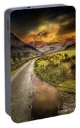 Valley Sunset Snowdonia Portable Battery Charger
