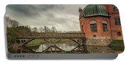 Vallo Castle Wooden Moat Bridge Portable Battery Charger