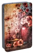 Vase And Flowers Portable Battery Charger