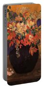 Vase Of Flowers 1896 Portable Battery Charger