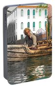 Venice Pause In The Evening Portable Battery Charger
