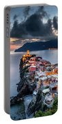 Vernazza Cityscape Portable Battery Charger