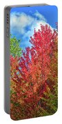 Vibrant Autumn Hues At Cornell University - Ithaca, New York Portable Battery Charger