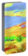 Vibrant Landscape  Portable Battery Charger