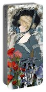 Victorian Lady Portable Battery Charger