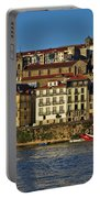 View Of Porto And Douro River Portable Battery Charger