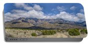 View Of Sandia Mountain Portable Battery Charger