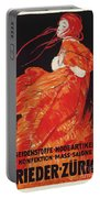 Vintage Art Deco Fashion Poster Portable Battery Charger