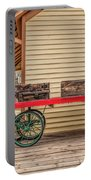 Vintage Baggage Cart Portable Battery Charger