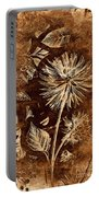Vintage Blossom Portable Battery Charger