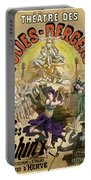 Vintage Poster For Les Sphinx Portable Battery Charger